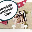 My Studio:  Hang Parisian photos on a clothesline