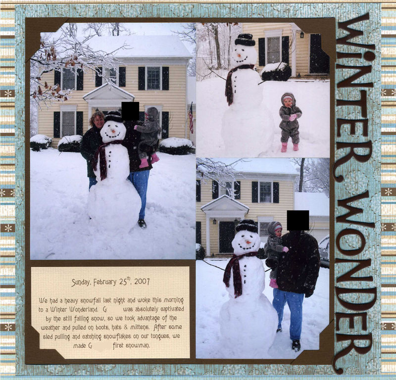 Winter Wonderland 2 no names