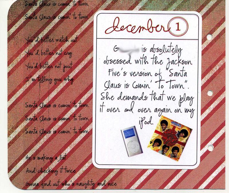 25 Days Dec 1001 no names