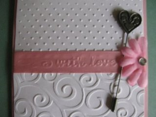 Embossing on ribbon