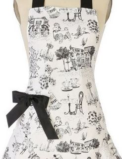 Parisian Cafe Apron at Anthropologie 2