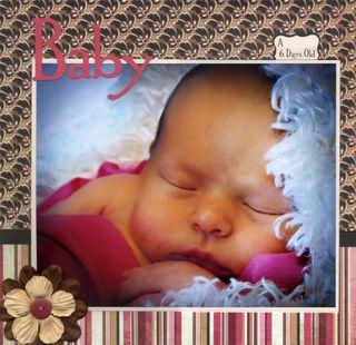 Baby 1 no names