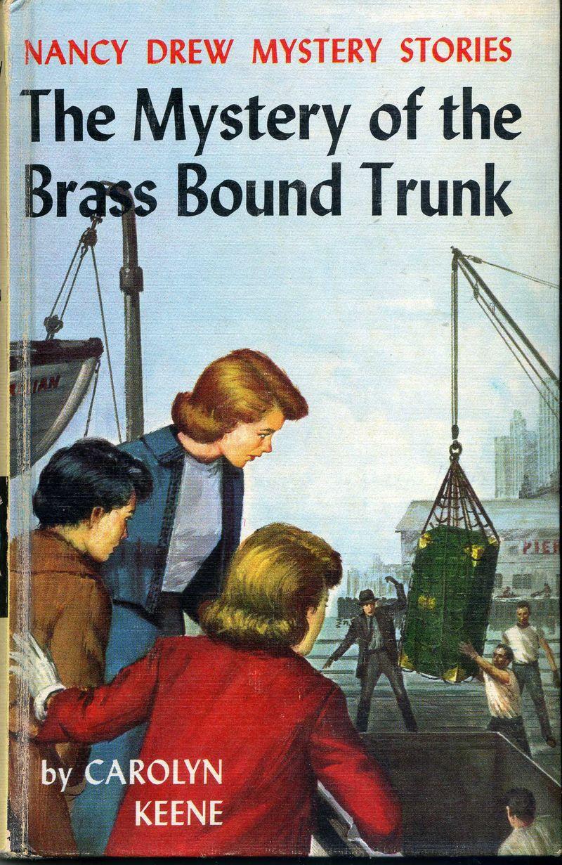 Nancy Drew Mystery of the Brass Bound Trunk001