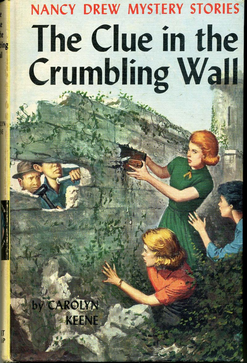 Nancy Drew Clue in the Crumbling Wall001