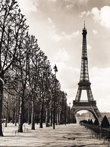 Eiffel Tower Vintage'