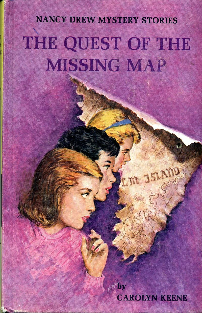 Nancy Drew Quest of the Missing Map001