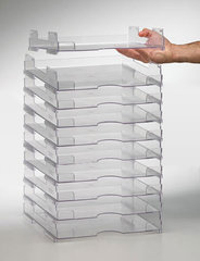 Paper storage display