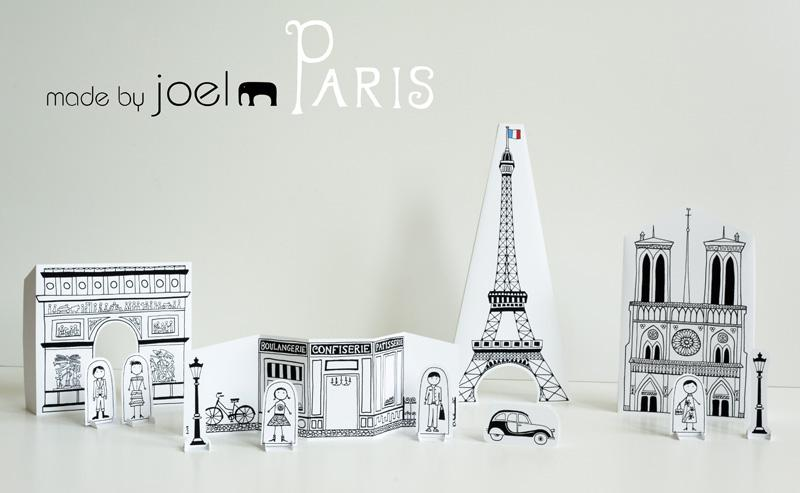 Paper City Paris J