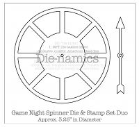 DieNamics Game Night Spinner
