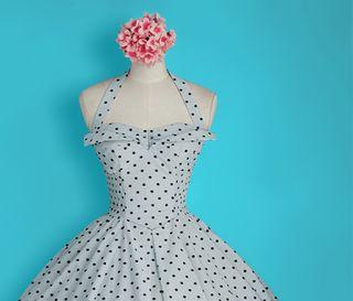 Vintage bridesmaids dress