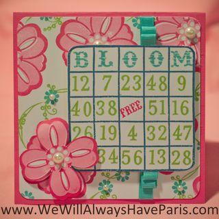 CTMH Bingo Alphabet (2 of 2)