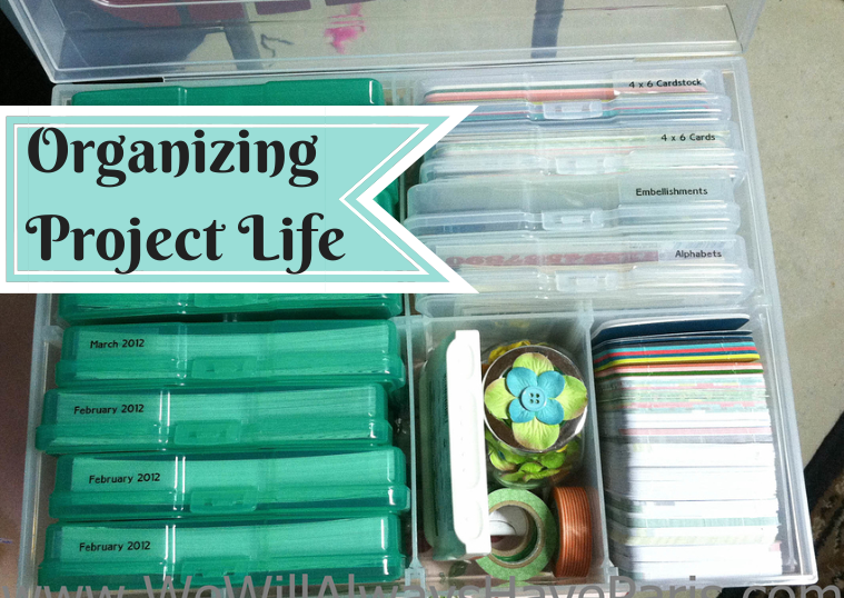 Organizing Project Life