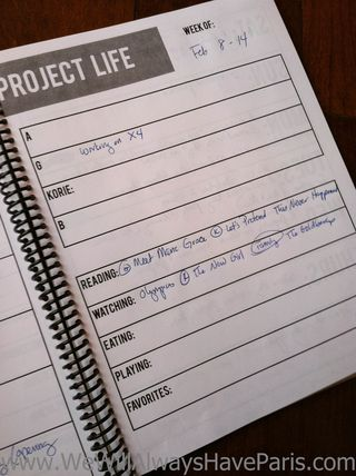 Project Life Journaling-3