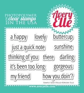 Avery Elle Hello