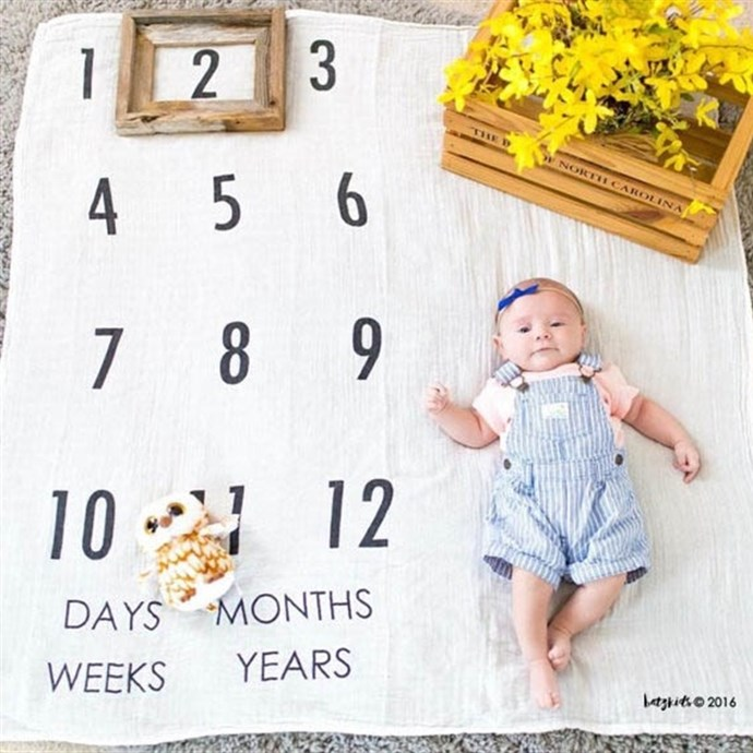 Baby Milestone Blankets