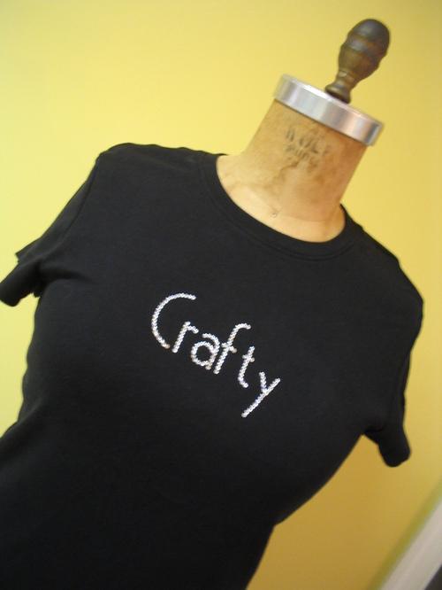 Crafty Bling T-shirt