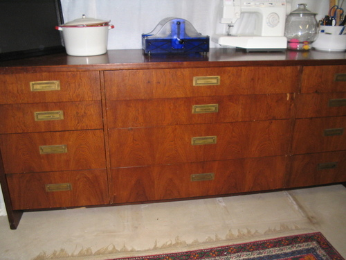 September 2006 - My New Credenza