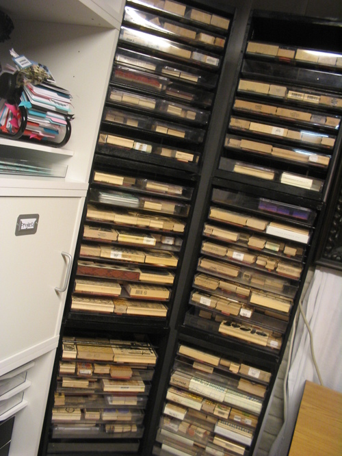 August 2007 - Rubber Stamp Storage