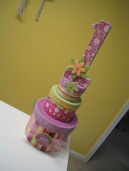 Birthday Cake Centerpiece